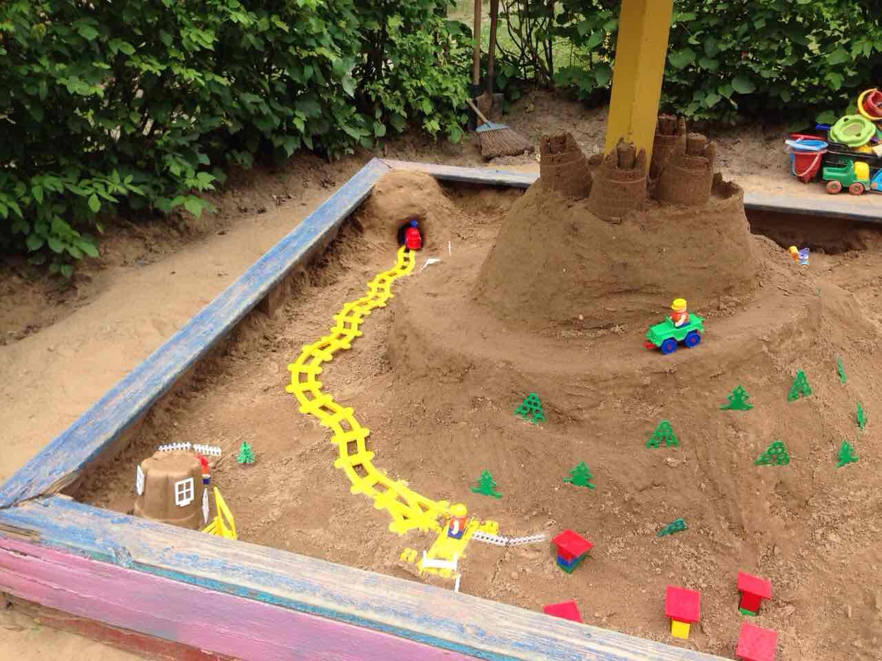 Поделки для детей из песка 20