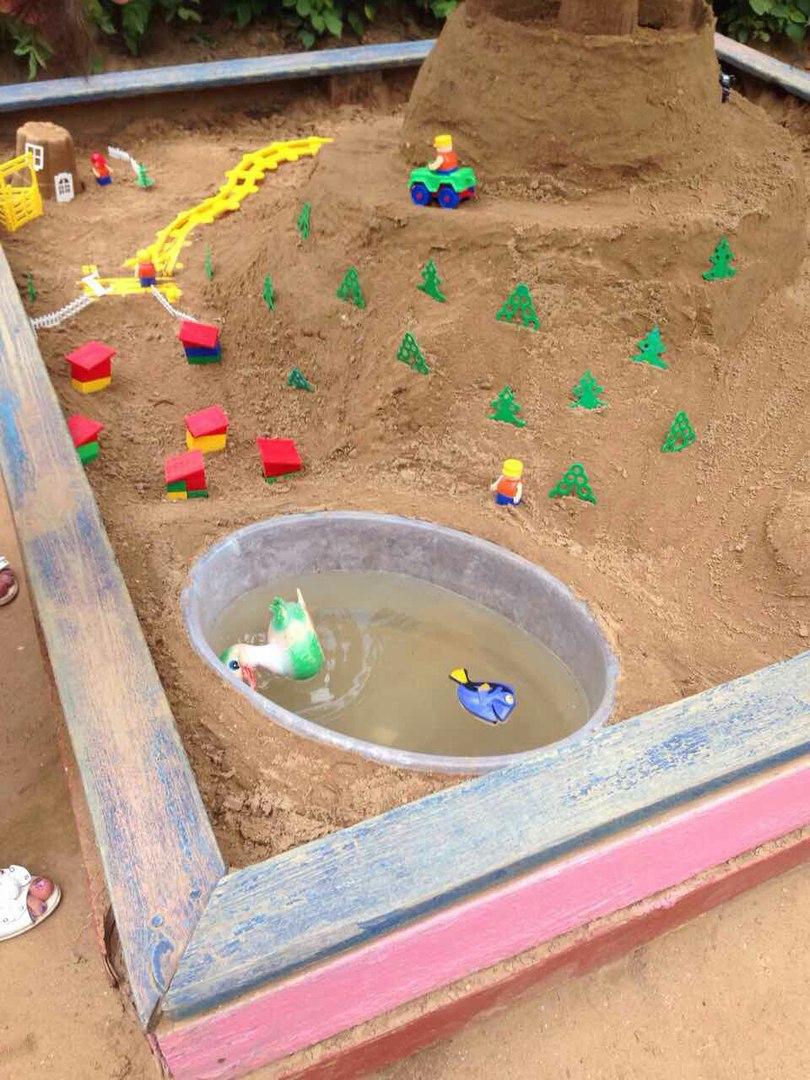 Поделки для детей из песка 19