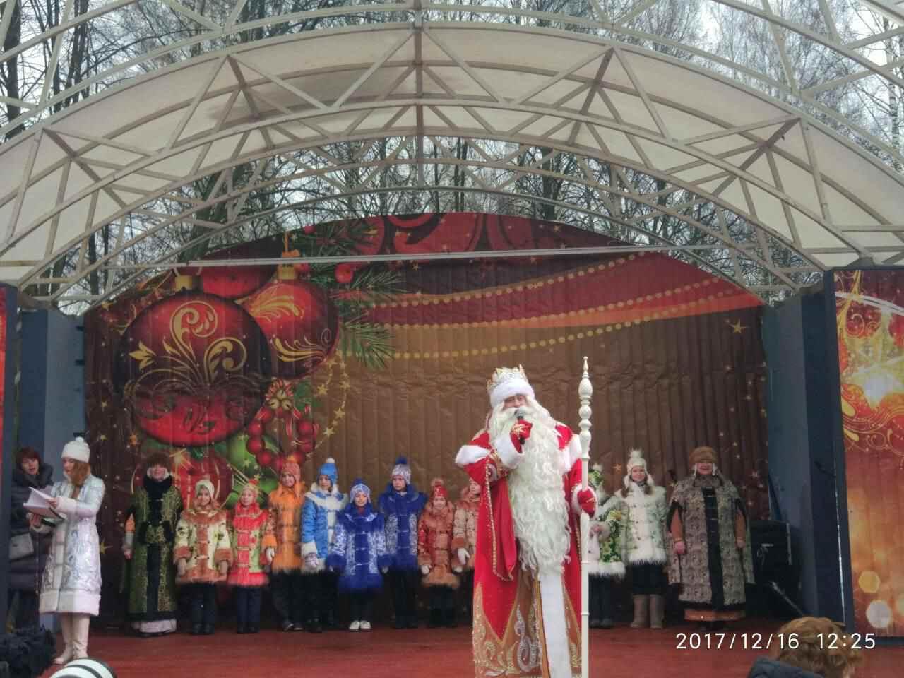 Карнавальное шествие Деда Мороза